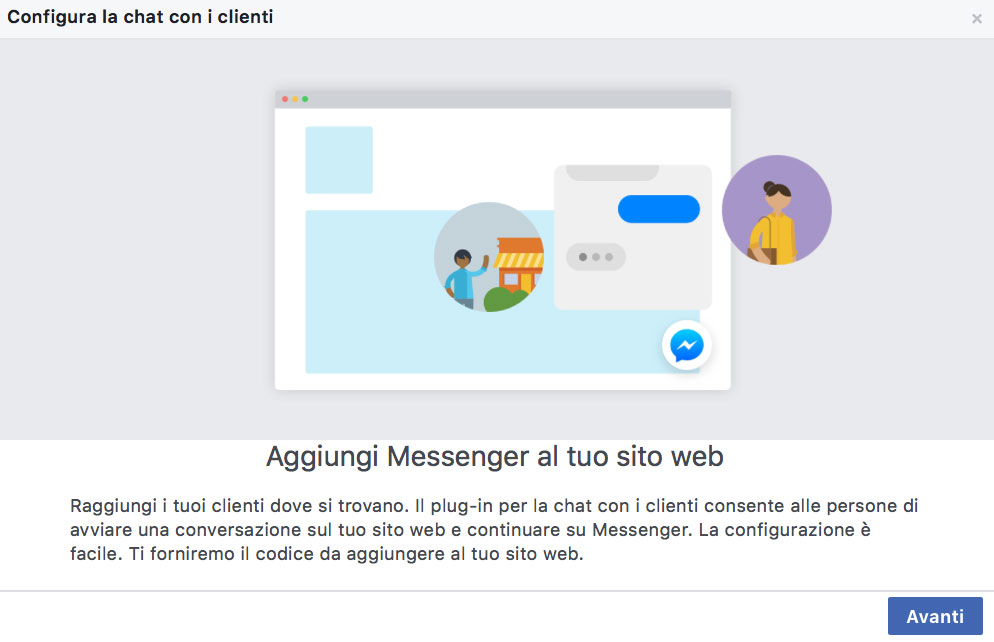 skills-comunicazione-senigallia-blog-plugin-messenger-schermata-impostazioni1